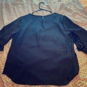 Silk Black Shirt